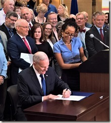 Governor signs 2018 Pension Bill